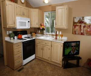 Arden Acres - Kitchens feature microwaves and fridges with stovetops